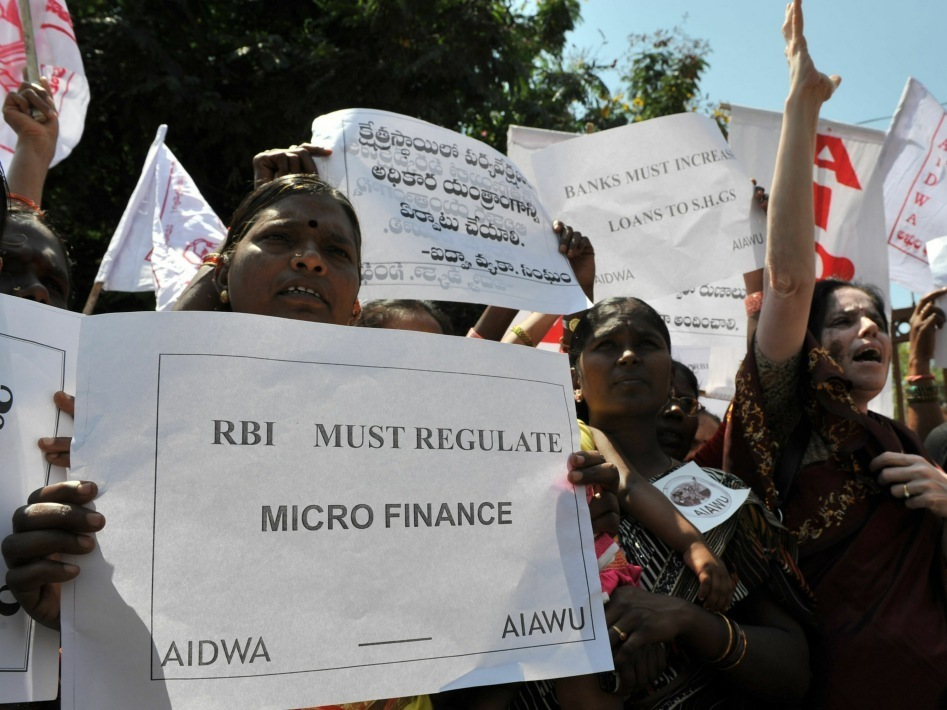 The Dark Side of Microfinance
